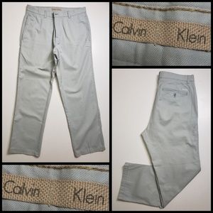 calvin klein men's straight pants size 32x30